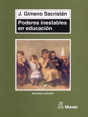 cover image of Poderes inestables en educación