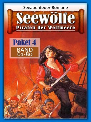 cover image of Seewölfe Paket 4