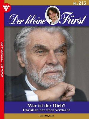 cover image of Der kleine Fürst 213 – Adelsroman