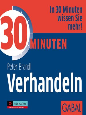 cover image of 30 Minuten Verhandeln