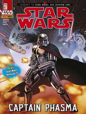 cover image of Star Wars, Comicmagazin 27--Captain Phasma