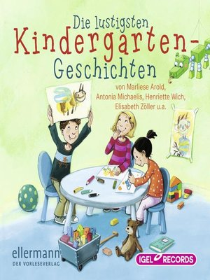 cover image of Die lustigsten Kindergarten-Geschichten