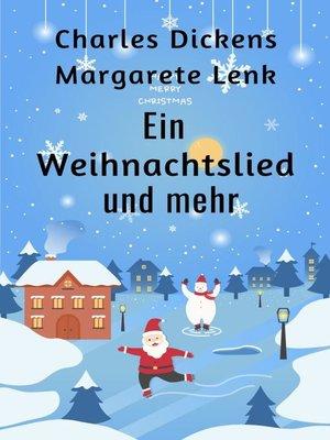 cover image of Ein Weihnachtslied und mehr