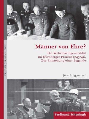 cover image of Männer von Ehre?