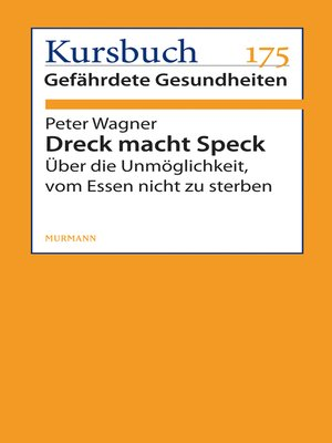 cover image of Dreck macht Speck