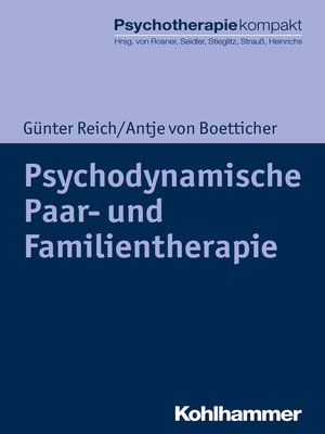 cover image of Psychodynamische Paar- und Familientherapie