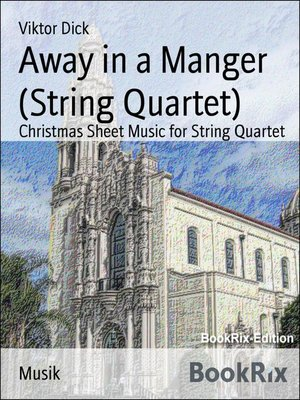 cover image of Away in a Manger (String Quartet)