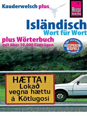 cover image of Isländisch--Wort für Wort plus Wörterbuch