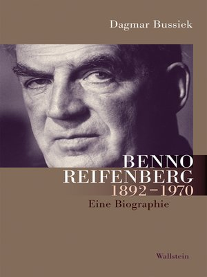 cover image of Benno Reifenberg (1892-1970)