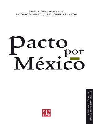 cover image of Pacto por México
