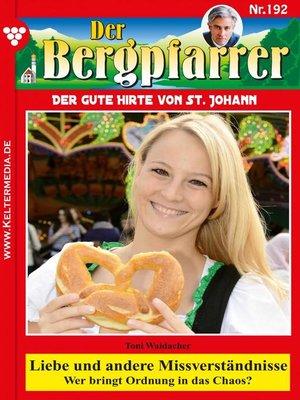 cover image of Der Bergpfarrer 192 – Heimatroman