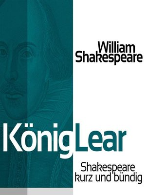 cover image of König Lear