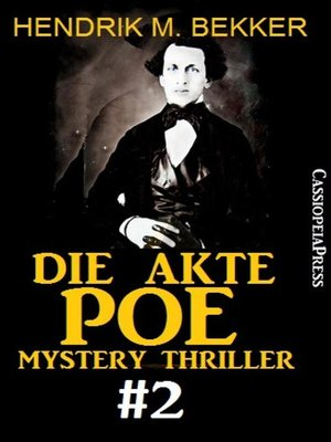 cover image of Die Akte Poe #2--Mystery Thriller
