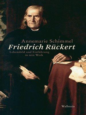 cover image of Friedrich Rückert