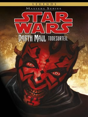 cover image of Star Wars, Masters 16--Darth Maul--Todesurteil