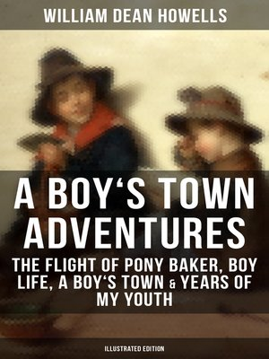 cover image of A BOY'S TOWN ADVENTURES