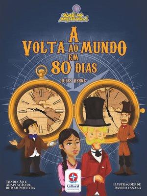 cover image of A volta ao mundo em 80 dias