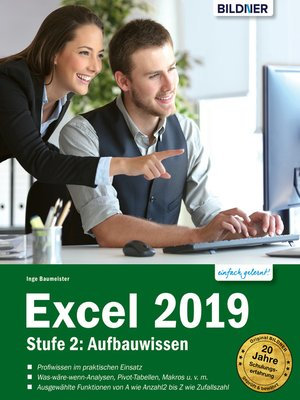 cover image of Excel 2019--Stufe 2