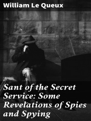 cover image of Sant of the Secret Service