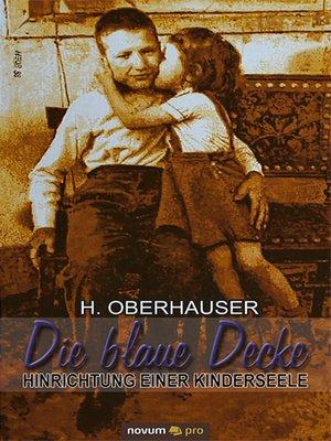 cover image of Die blaue Decke
