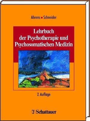 cover image of Lehrbuch der Psychotherapie und Psychosomatischen Medizin