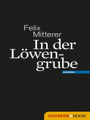 cover image of In der Löwengrube