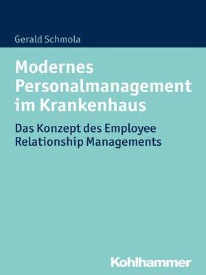 cover image of Modernes Personalmanagement im Krankenhaus