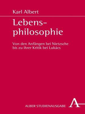 cover image of Lebensphilosophie