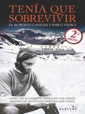 cover image of Tenía que sobrevivir