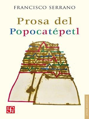 cover image of Prosa del Popocatépetl