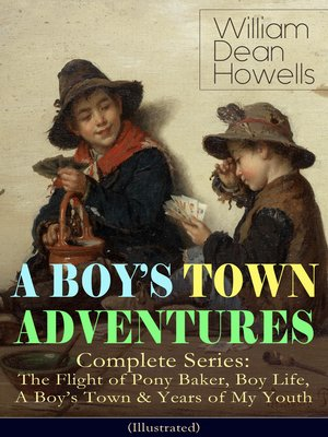 cover image of A BOY'S TOWN ADVENTURES--Complete Series