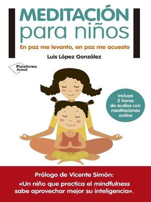 cover image of Meditación para niños
