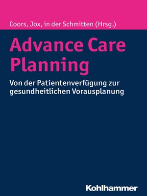 cover image of Advance Care Planning