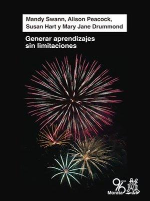 cover image of Generar aprendizaje sin limitaciones