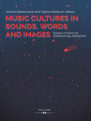 cover image of Music Cultures in Sounds, Words and Images.