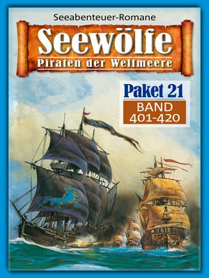 cover image of Seewölfe Paket 21