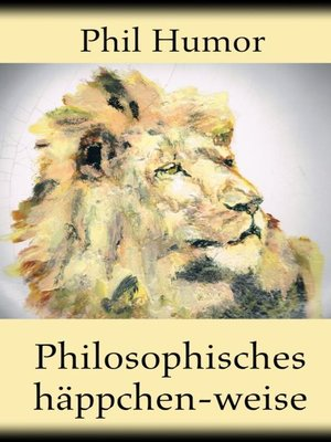 cover image of Philosophisches häppchen-weise