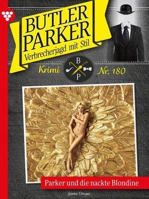 cover image of Butler Parker 180 – Kriminalroman