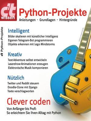 cover image of c't wissen Python-Projekte (2018)