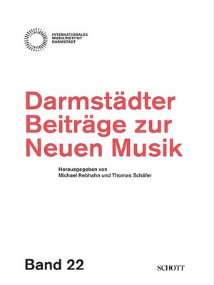 cover image of Darmstädter Beiträge zur neuen Musik
