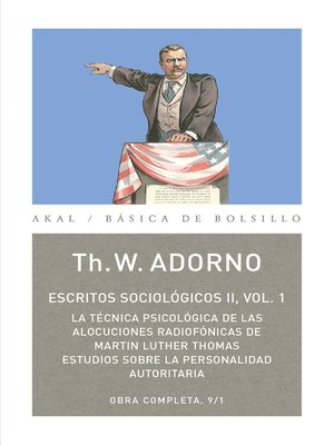 cover image of Escritos Sociológicos II. Volume 1