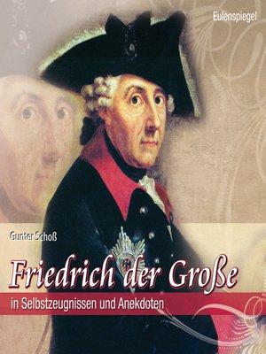 cover image of Friedrich der Große
