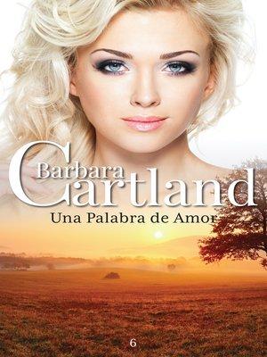 cover image of Una Palabra De Amor