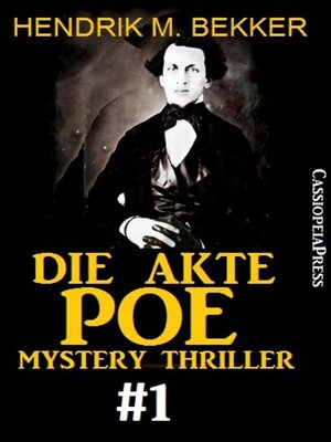 cover image of Die Akte Poe #1--Mystery Thriller