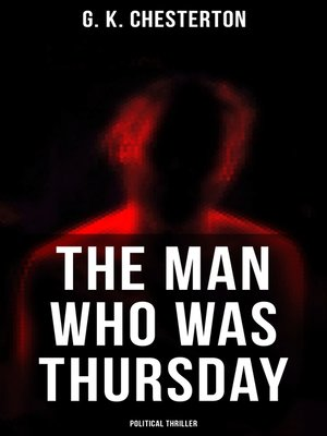 cover image of The Man Who Was Thursday (Political Thriller)