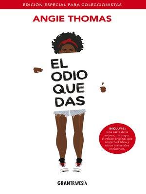 cover image of El odio que das