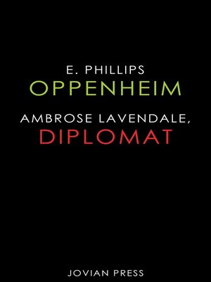 cover image of Ambrose Lavendale, Diplomat