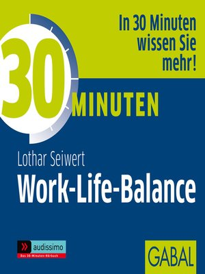 cover image of 30 Minuten Work-Life-Balance