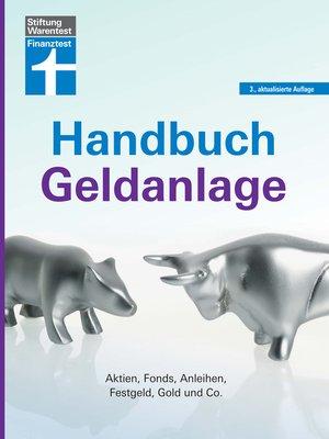 cover image of Handbuch Geldanlage