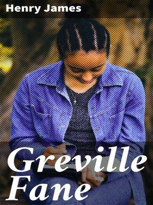 cover image of Greville Fane